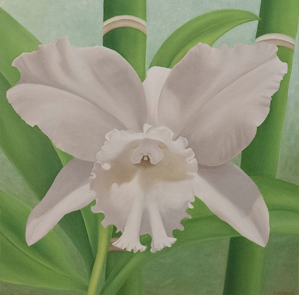 Beautiful Orchid Painting