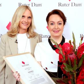Årets Ruter Dam 2021– Anna Borg, vd och koncernchef Vattenfall
