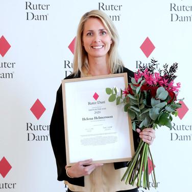 Helena Helmersson  |  Årets Ruter Dam 2020