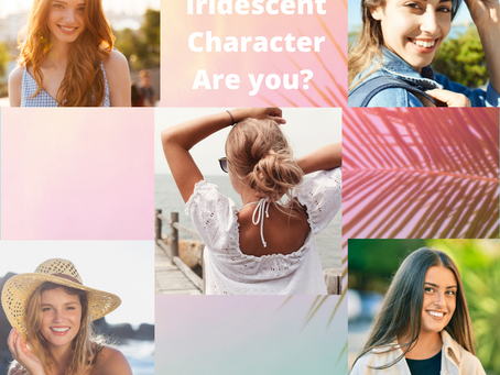 Are you a Katrina, Kristen, June, Lila, or Grey? (Iridescent Series Characters)