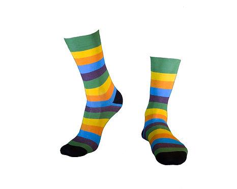Stylish  Socks, კაცის წინდა.ზომა  39-42. 43 -46. კოდი  MOO12A ფერი მწვანე.