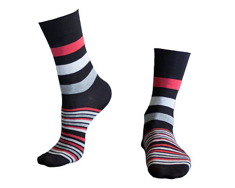 Stylish  Socks  კაცის წინდა  ზომა  39-42. 43 -46. კოდი  MOO3 ფერი შავი