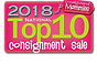 National Top 10 2018 Consignment Mommies