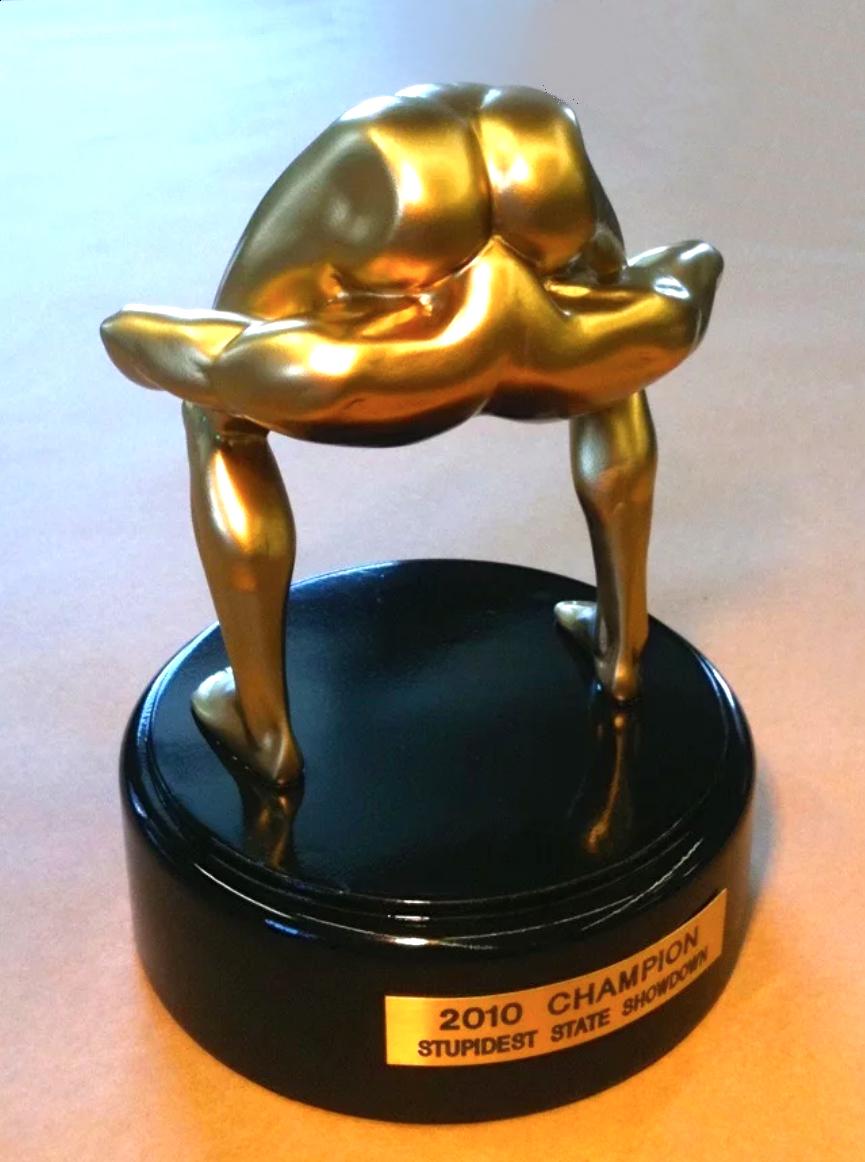 Stupidest State Award