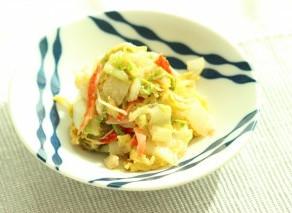 食欲の秋。11月レシピ【白菜のナムル】【もずくスープ】