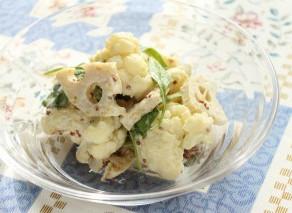 胃腸いたわりランチ♪冬野菜のマスタードサラダレシピ