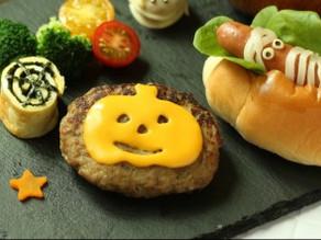 ハロウィンパーティー♪【ジャックオランタンのチーズハンバーグ】作り方