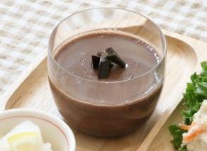 ハッピーワンプレートレシピ♪豆乳ココアプリン