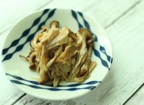 秋のレシピ 【きのこマリネ】【豆苗の味噌スープ】作り方