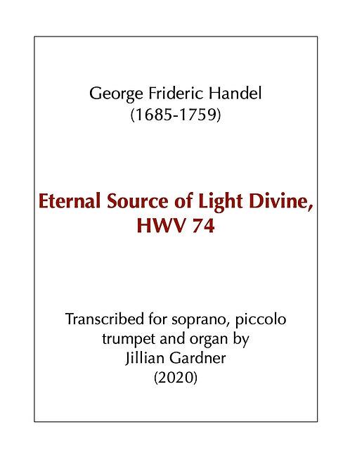Eternal Source of Light Divine, BWV 74