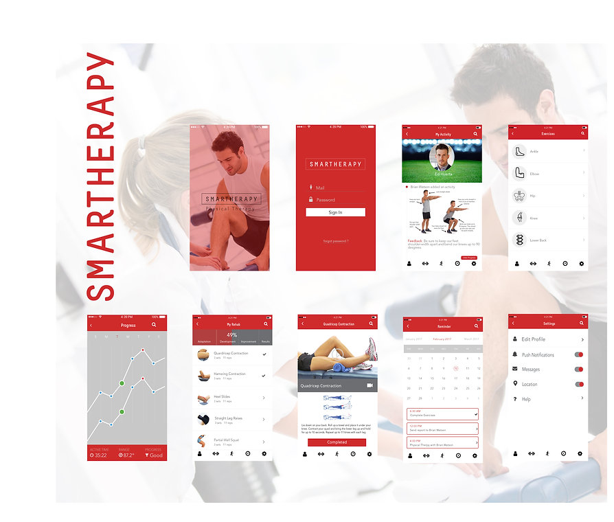 smartherapy all screens
