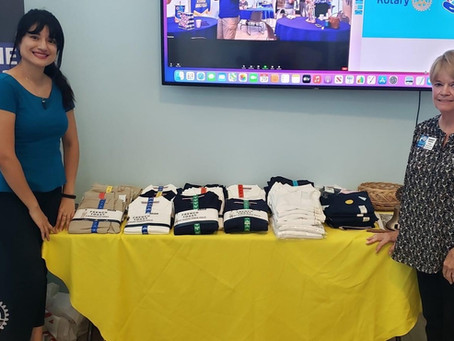 Chula Vista Sunrise Rotary Club Service Project