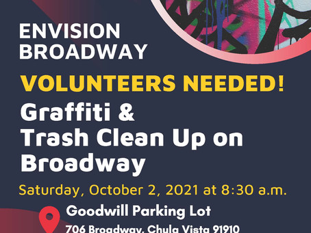 Envision Broadway Volunteers Needed