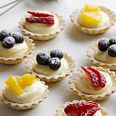 18 Mini Fruit Tarts
