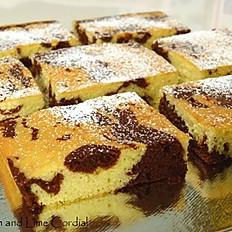 Marble Sheet Cake