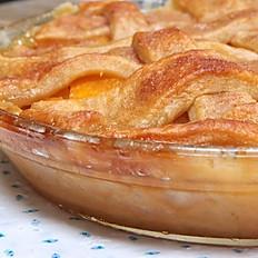 Deep Dish Peach Cobbler