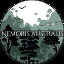 Logo Nemoris australis con fosil.png
