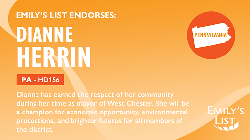 Emilys List_Endorsement_PA_DianneHerrin.