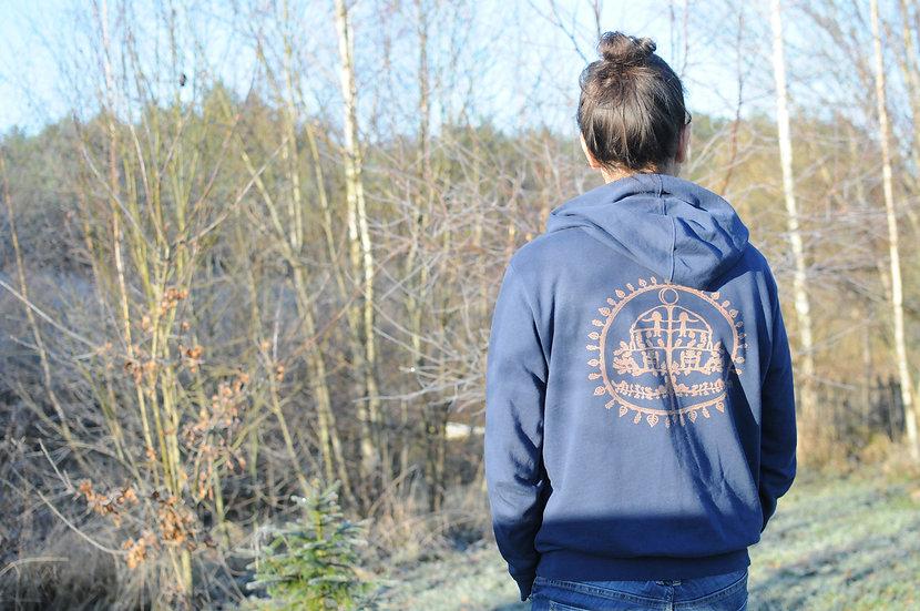 Džemperis su paveikslėliu ant nugaros