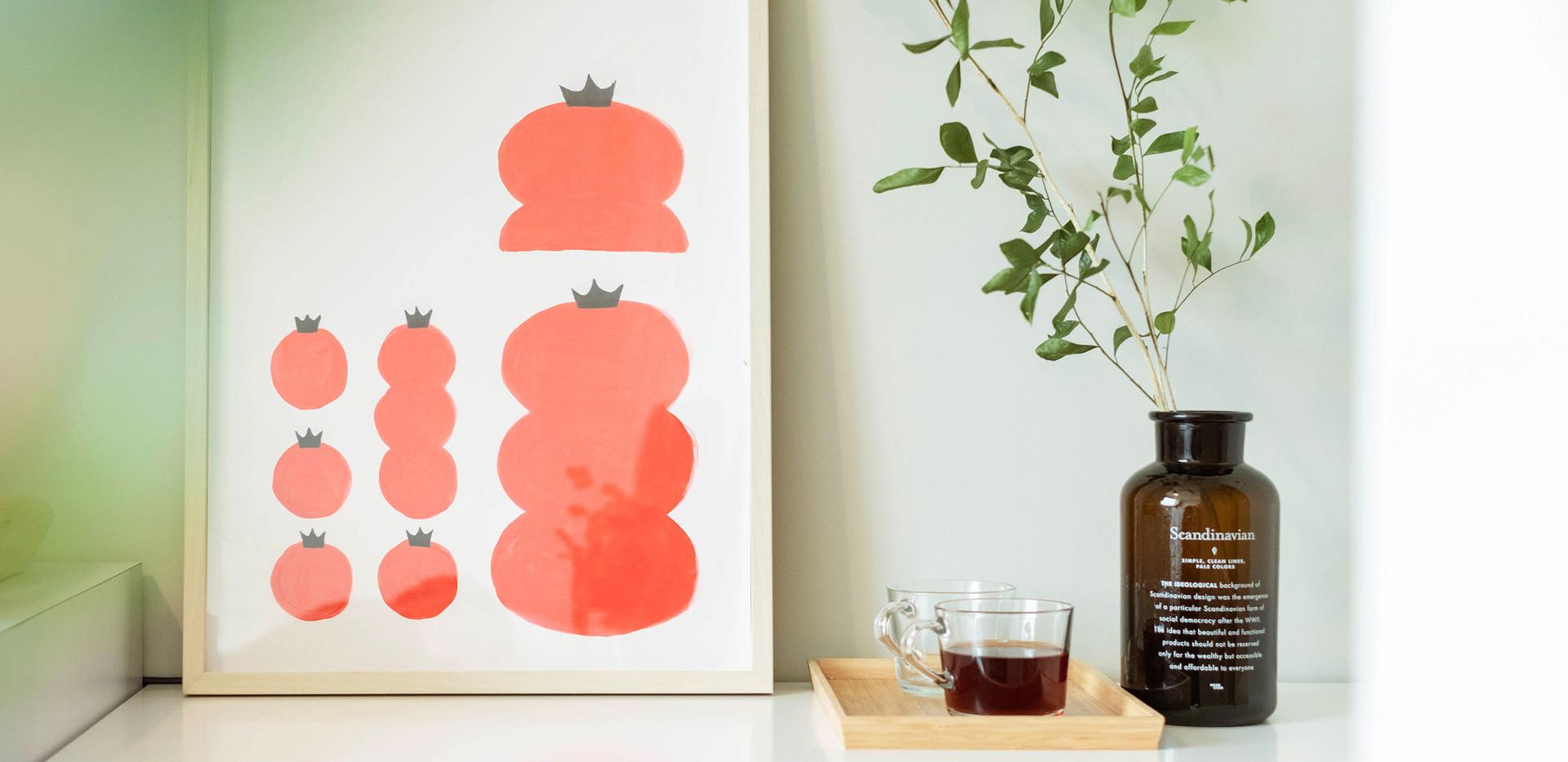 黑番茄雙人客房