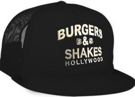 Burgers & Shakes Hollywood and Miami Beach- Classic Mesh Trucker Cap