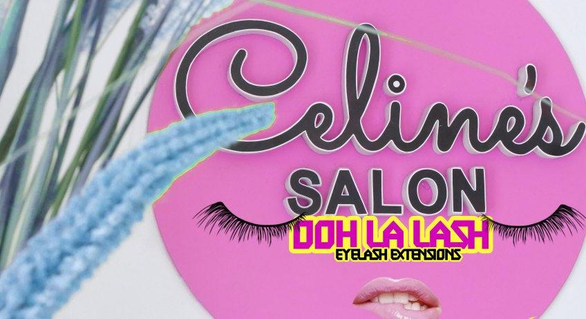 Celine's Salon Ooh La Lash Eyelash Extensions
