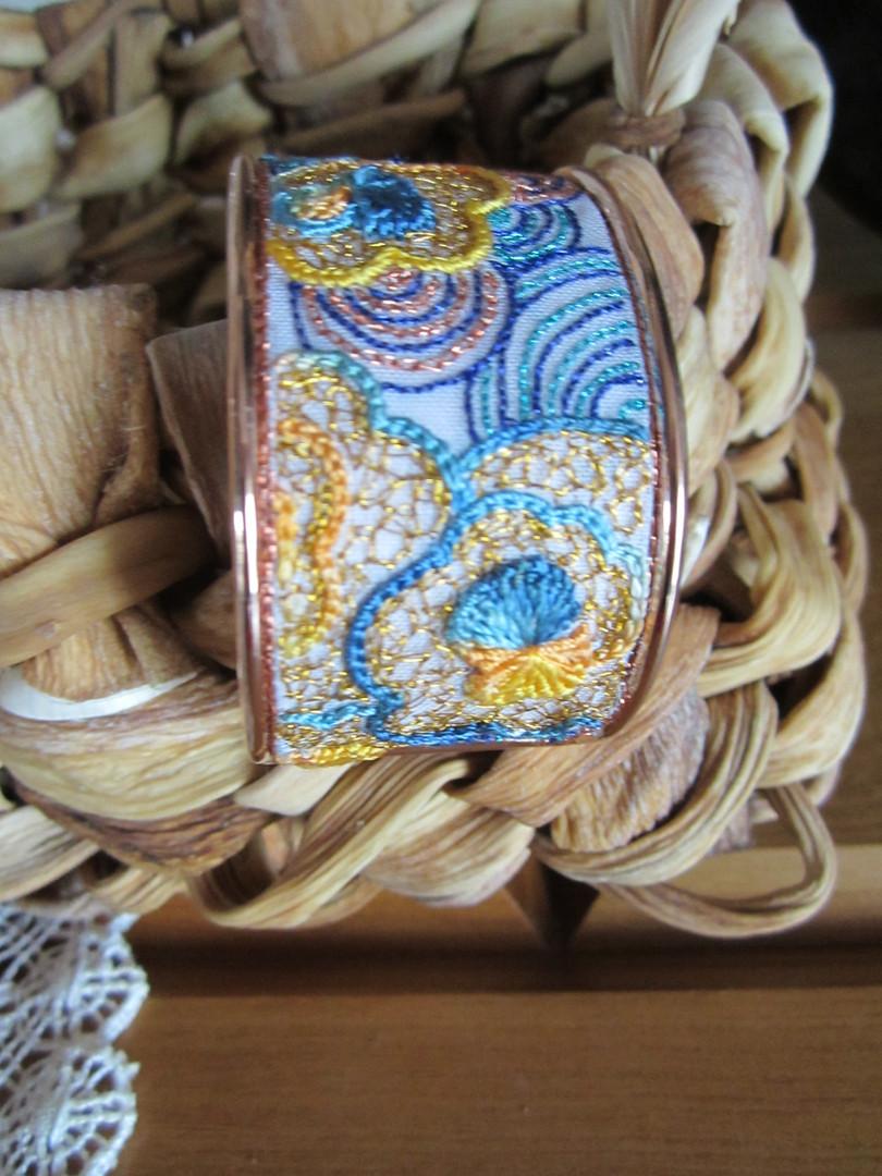 Bracelet Joline Lotus bleu