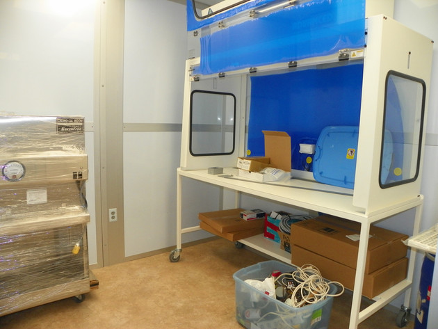 USP 800 Compounding Lab Under Construction