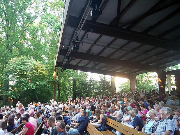 Zuschauerraum der Freilichbühne