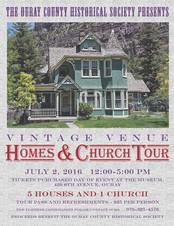 Vintage Venure Homes & Church
