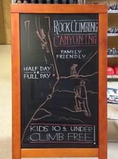 Ouray Mountain Shop Sign - Back