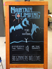 Ouray Mountain Shop Sign - Front