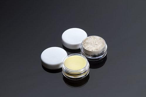 Set Labios Sedosos - exfoliante y bálsamo