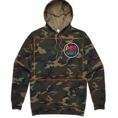 Camo unisex hoodie - Adults