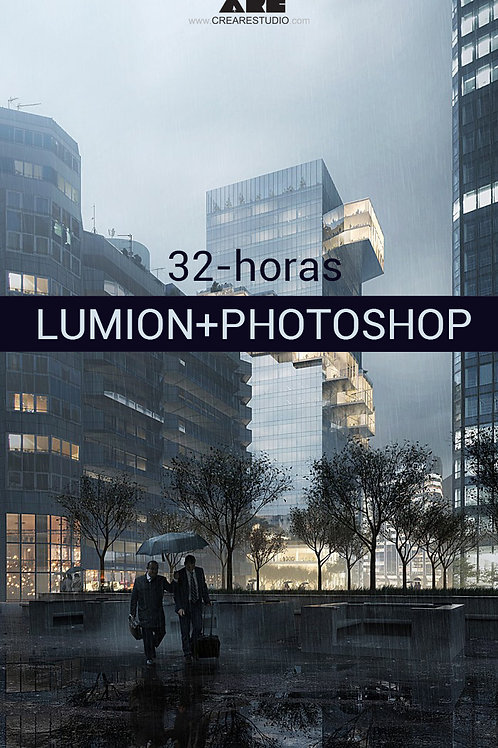 Lumion + Photoshop online (32h)