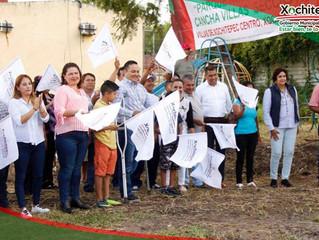 Inicia construcción de 2 Parques Recreativos en Xochitepec.