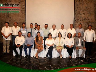 Firma Xochitepec convenio con el INE