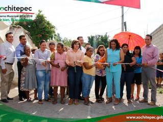 570 personas se benefician en La Pintora con la ampliación de la red eléctrica.