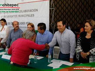 Firman convenios de colaboración con INEA e INAPAM