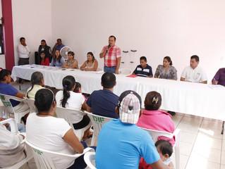 94 familias de Xochitepec son beneficiadas con una mejora en su vivienda.