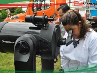 El tráiler de la ciencia y la tecnología llegó a la unidad Morelos.