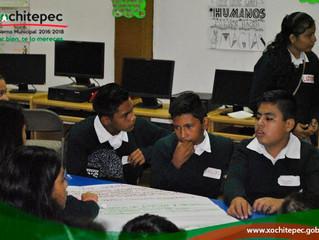 Lleva Instancia de la Mujer cursos de perspectiva de género a jóvenes del municipio.