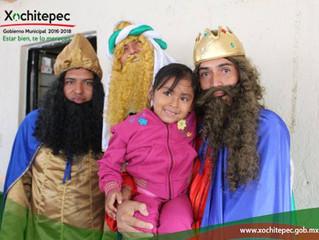 Continúa gira de Reyes Magos por Xochitepec