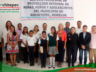 Signan acta para protección integral de niños y niñas