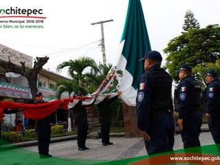 Festejan Xochitepec Independencia de México
