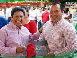 Anuncia Alcalde de Xochitepec inversión de 19mdp en Infraestructura Educativa.