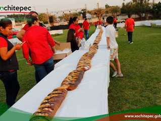 Parten tradicional Rosca de Reyes