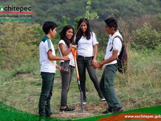 """Cobaem No. 12 la Jornada """"Jóvenes por el ambiente""""."""