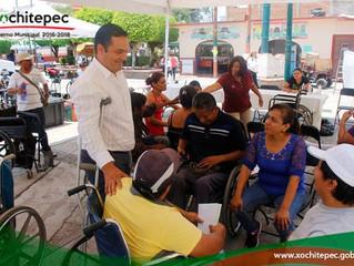 """Apoyan a discapacitados con Programa """"Enchúlame La Silla"""""""