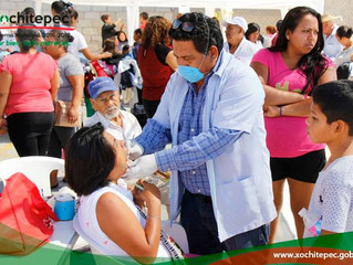 Llevan a cabo Jornadas de salud en colonia Miguel Hidalgo